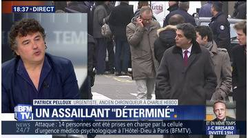 """Attaque au couteau à Paris: un assaillant """"déterminé"""""""