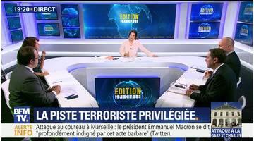 Attaque au couteau à Marseille: la piste terroriste privilégiée