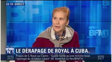 Ségolène Royal déclenche une polémique en défendant le bilan de Fidel Castro