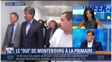Arnaud Montebourg officialise sa candidature à la primaire socialiste