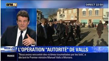 Manuel Valls veut réaffirmer l'autorité de l'État à Moirans
