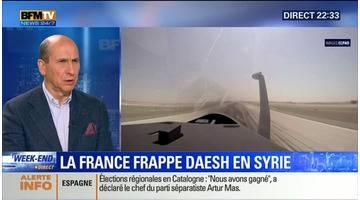 Syrie: la France a mené ses premières frappes contre Daesh