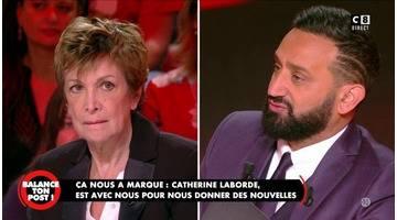 Catherine Laborde atteinte de Parkinson donne de ses nouvelles à Cyril Hanouna