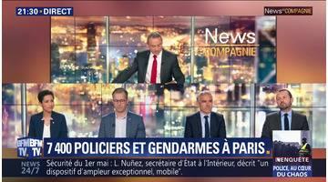 """Christophe Castaner: """"Demain, il y a un risque"""""""