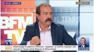 """Philippe Martinez: """"Les gens ont retrouvé le goût du collectif et d'agir ensemble"""""""