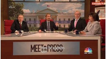 Meet the Press - Saturday Night Live en VOST avec Emma Thompson