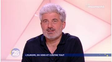 Laurent Gaudé / Réseaux sociaux : doit-on sacrifier la liberté d'internet ? - 28 minutes - ARTE