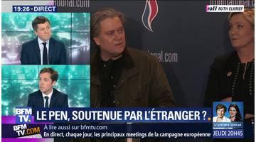 Marine Le Pen, soutenue par l'étranger ?