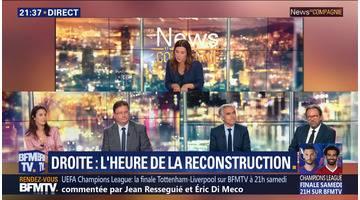 Droite: L'heure de la reconstruction