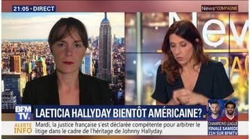 Laeticia Hallyday: bientôt américaine ?