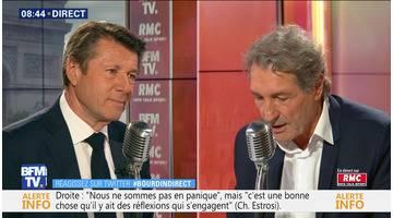 Christian Estrosi face à Jean-Jacques Bourdin en direct