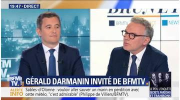 Gérald Darmanin face à Eric Brunet