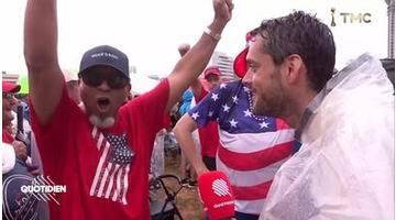 Donald Trump lance sa campagne entouré de supporters remontés à bloc