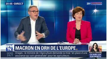 Macron en DRH de l'Europe