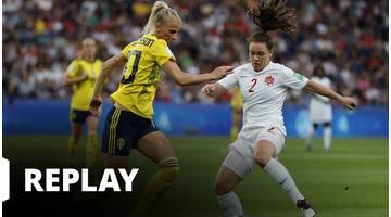 Suède - Canada - Coupe du Monde Féminine de la FIFA, France 2019