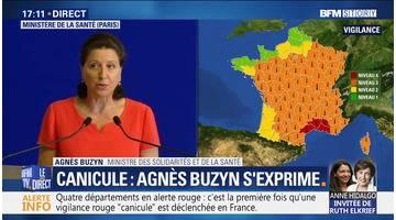 Canicule: Agnès Buzyn s'exprime