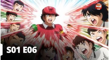 Captain Tsubasa - Episode 6 - Coup d'envoi ! Nankatsu contre Shutetsu