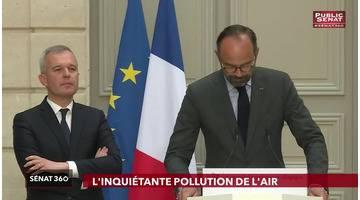 Démission de Rugy / pollution de l'air / europe - Sénat 360 (16/07/2019)