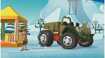 Ranger Rob - S01 E - La grande marche des manchots sur la banquise