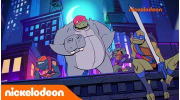 Le destin des Tortues Ninja | Hippo-Appât | Nickelodeon France