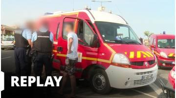 90' Enquêtes - Pompiers et gendarmes : leur été chaud sur les plages de Méditerranée
