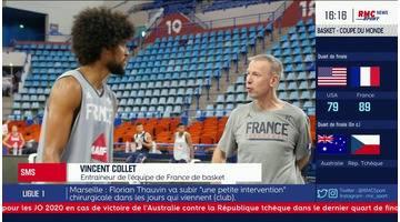 """""""On est venu pour faire un braquage """" lance Collet après la victoire des Bleus face aux Etats-Unis"""