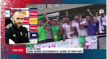 """""""J'ai voulu construire mon groupe comme France 98"""" affirme Belmadi, sélectionneur de l'Algérie"""