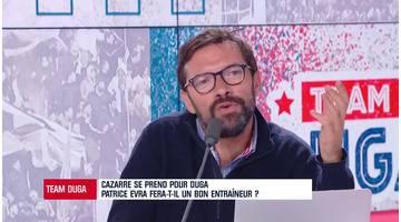 Team Duga - Julien Cazarre évoque... Patrice Evra et sa volonté de devenir coach