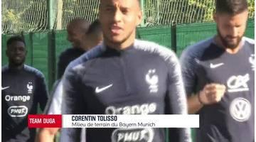 Equipe de France - Tolisso espère bousculer la hiérarchie au milieu