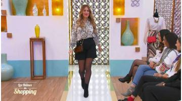 Les Reines du Shopping : Le défilé de Laura avec un look choisi par son amie Lina !