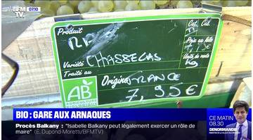 Bio: gare aux arnaques - 16/09