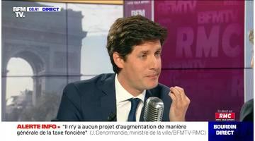 Julien Denormandie face à Jean-Jacques Bourdin en direct