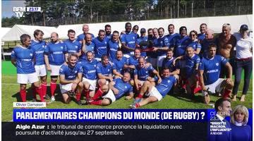 Parlementaires champions du monde (de rugby) ? - 16/09