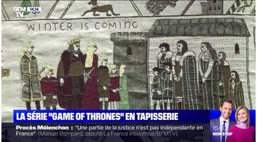 "La série ""Game of thrones"" en tapisserie"
