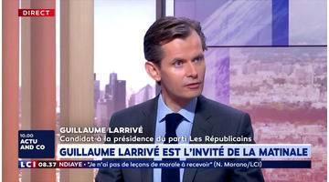 L'invité politique du mardi 23 juillet 2019 : Guillaume Larrivé