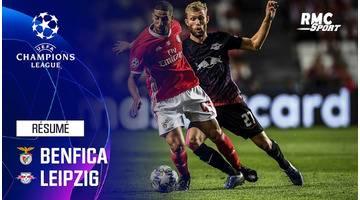 Résumé : Benfica - Leipzig (1-2) - Ligue des champions J1