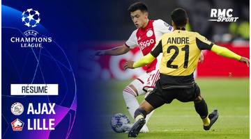 Résumé : Ajax - Lille (3-0) - Ligue des champions J1