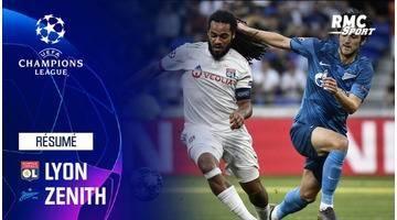 Résumé : Lyon - Zenith (1-1) - Ligue des champions J1