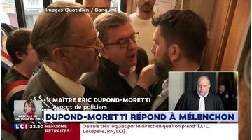 """""""Un procès politique perdu par madame Belloubet"""", selon Mélenchon"""