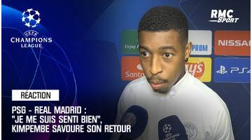 "PSG - Real Madrid : ""Je me suis senti bien"", Kimpembe savoure son retour"
