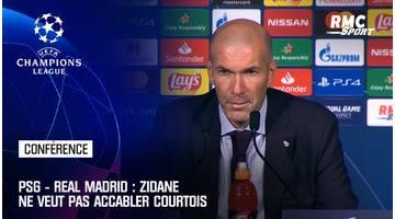 PSG - Real Madrid : Zidane ne veut pas accabler Courtois