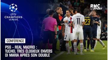 PSG - Real Madrid : Tuchel très élogieux envers Di Maria après son doublé
