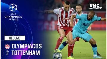 Résumé : Olympiacos - Tottenham (2-2) - Ligue des champions J1