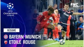 Résumé : Bayern Munich - Etoile Rouge (3-0) - Ligue des champions J1