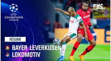 Résumé : Bayer Leverkusen - Lokomotiv Moscou (1-2) - Ligue des champions J1