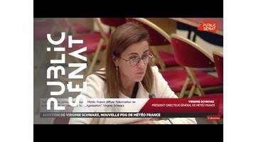Audition de Virginie Schwartz, nouvelle PDG de Météo France - Les matins du Sénat (19/09/2019)