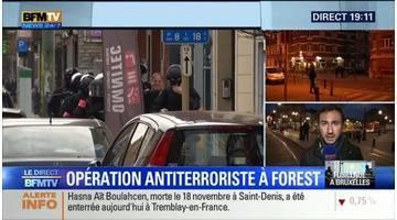 """Opération antiterroriste à Bruxelles: """"On est dans une notion de danger qui n'a pas du tout diminué"""", Pierre Conesa"""