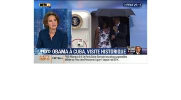 """""""A peu près 80% des Cubains attendent Obama comme le Messie"""", Laurence Debray"""