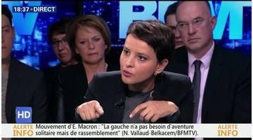 """Najat Vallaud-Belkacem face aux Français: """"L'absentéisme n'est pas plus fort dans l'Éducation nationale que dans le reste de la fonction publique"""""""