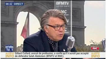 Gilbert Collard face à Jean-Jacques Bourdin en direct